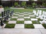 Ajedrez, xadrez, xardín,