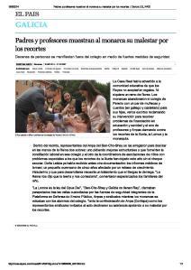 2014-09-19--El Pais-Padres y profesores malestar monarcas