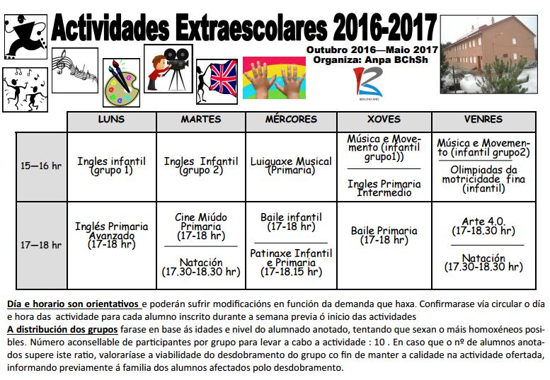 horario-extraescolares